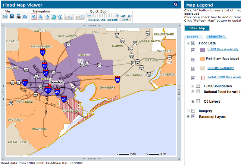 New FEMA Flood Maps Coming To Southeast Texas SE Texas Real - Fema flood maps texas