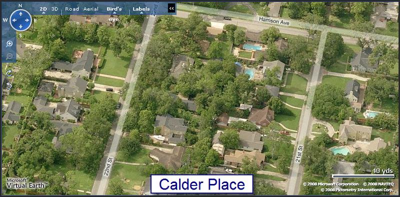 Calder Place Map