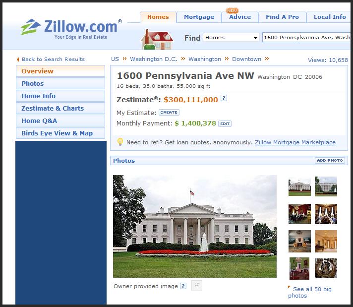 Whitehouse_zestimate