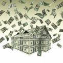 Dollar bill house